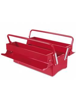 Ящик для инструмента металлический, раздвижной, 3 отделения 403 (404x200x240 мм) (TAYG)