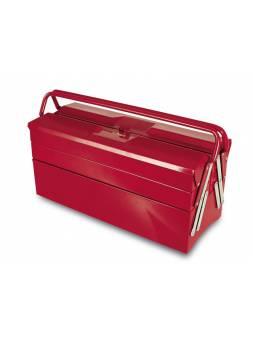 Ящик для инструмента металлический, раздвижной, 5 отделений 505 (500x200x290 мм) (TAYG)