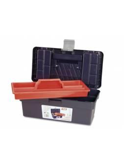 Ящик для инструмента пластмассовый 35,6x19,2x15см (с лотком) (TAYG)