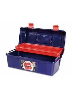 Ящик для инструмента пластмассовый 35,6x18,4x16,3см (с лотком) (TAYG)