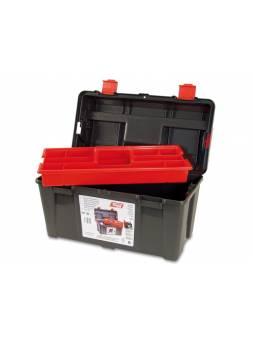 Ящик для инструмента пластмассовый 44,5x23,5x23см (с лотком) (TAYG)