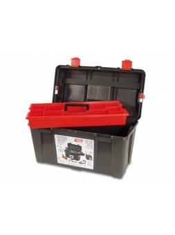 Ящик для инструмента пластмассовый 48x25,8x25,5см (с лотком) (TAYG)