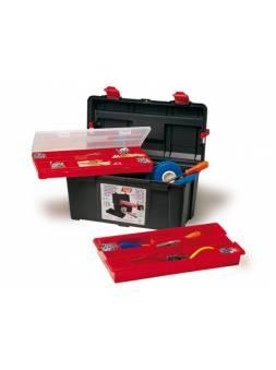 Ящик для инструмента пластмассовый 44,5x23,5x23см (с лотком и органайзером) (TAYG)