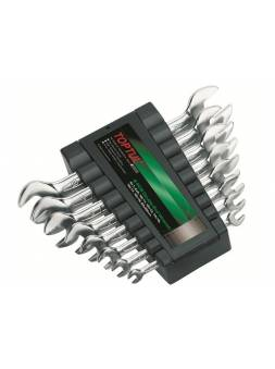 Набор ключей рожк. 6-22мм на клипсе 8шт TOPTUL (GAAC0802)