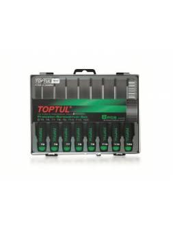 Набор отверток д/точн.работ TORX 8шт T5-T20 TOPTUL