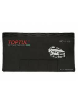 Магнитный защитный коврик с карманами для инструмента TOPTUL