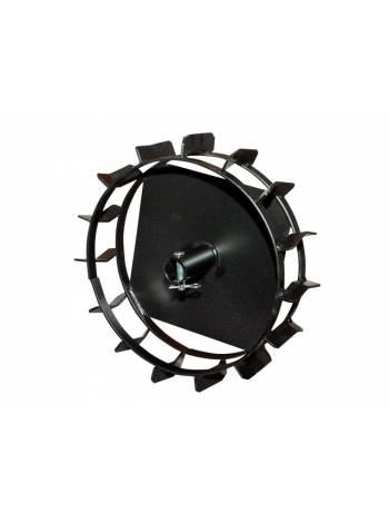 Грунтозацепы (комплект лев+прав) ф360/310мм, шир. 90мм, втулка ф 34мм, 2 обруча FERMER (для FERMER FM-633)