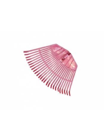 Грабли веерные пластмассовые без черенка 430х220