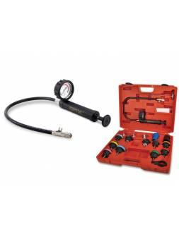 Набор для проверки герметичности системы охлаждения 18пр. TOPTUL