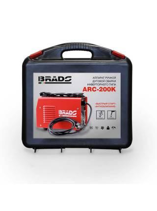 Инвертор сварочный Brado ARC-200K ( в кейсе)