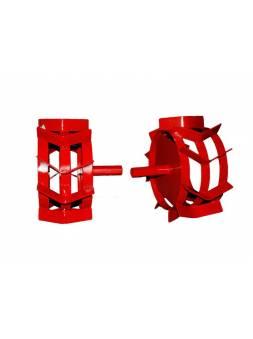 Грунтозацепы (комплект) ф 350/270 мм, шир. 160 мм, 6-гр. втулка 26 мм, 3 обруча ВРМЗ (для FERMER FM-702MSL/PRO-SL, FM-909MSL)