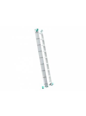 Лестница алюм. 3-х секц. 315/679/488 см 3х11 ступ, 18.3 кг  iTOSS Helper