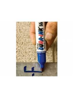 Маркер промышл. перманентный фетровый MARKAL DURA-INK 55 СИНИЙ (толщ. линии 1.5/4.5 мм) (Цвет синий)