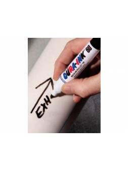 Маркер промышл. перманентный фетровый MARKAL DURA-INK 60 СИНИЙ (толщ. линии 3 мм) (Цвет синий)