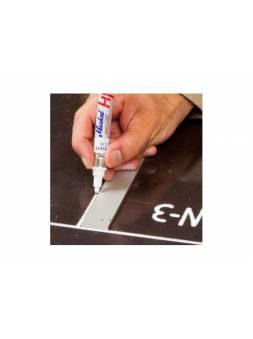 Маркер промышл. перманентный на основе жидк. краски MARKAL PRO-LINE HP БЕЛЫЙ (толщ. линии 3 мм) (Цвет белый)