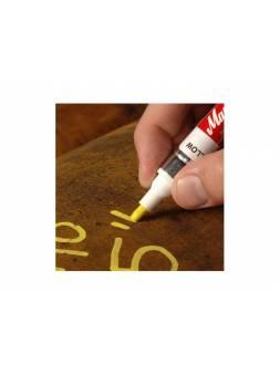 Маркер промышл. перманентный на основе жидк. краски MARKAL PRO-LINE XT БЕЛЫЙ (толщ. линии 3 мм) (Цвет белый)