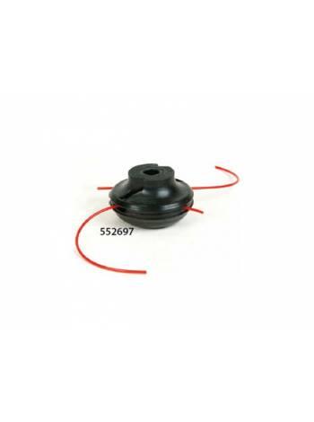 Головка триммерная OREGON JET-FIT MINI леска ф 2.0 мм (леска до 2.4 мм, ф 75 мм, с переходниками)