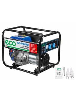 Генератор бензиновый ECO PE-6700RSi