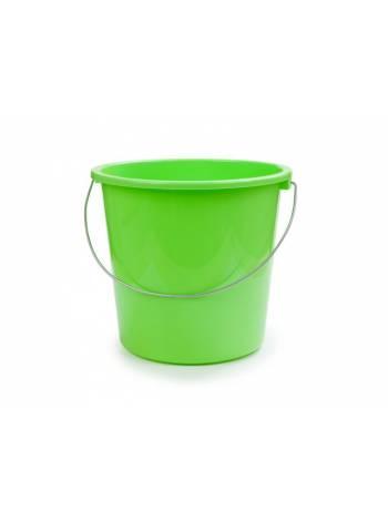 Ведро 5 л, салатный, BEROSSI (Изделие из пластмассы. Литраж 5 литров)