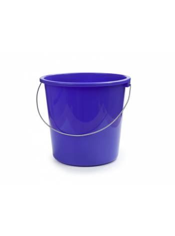 Ведро 7 л, лазурно-синий, BEROSSI (Изделие из пластмассы. Литраж 7 литров)