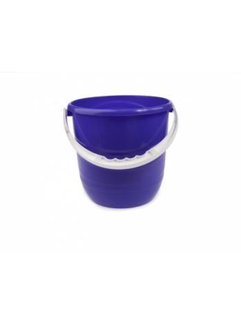 Ведро Practic (Практик) 12 л, лазурно-синий, BEROSSI (Изделие из пластмассы. Литраж 12 л)