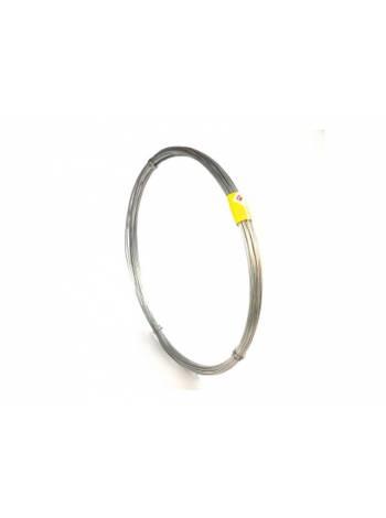 Проволока вязальная оцинкованная ф0.8мм (бухта 1кг) (ЮО)