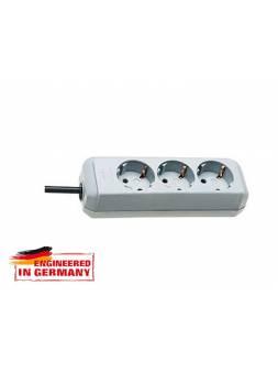 Удлинитель 1.5м (3 роз., 3.3кВт, с/з, ПВС) светло-серый Brennenstuhl Eco-Line