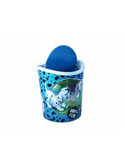 Контейнер для мусора настольный 1.6л Disney (бирюзовый) (IDEA)