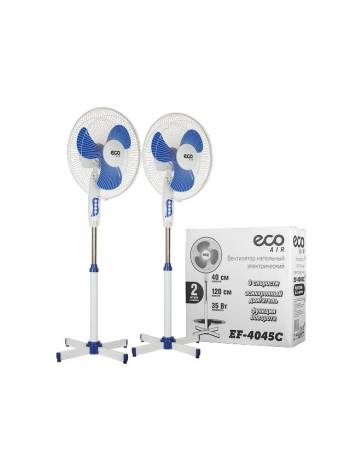 Вентилятор электрический напольный 35 Вт ECO EF-4045C