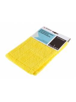 Сменная насадка для швабры из микрофибры, желтая