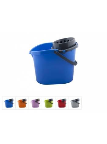 Ведро с отжимом, DRINA (цвета в ассортименте)
