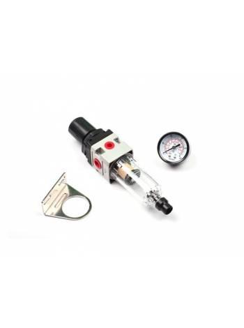 Регулятор давления с манометром и фильтром, для PC-40 (SOLARIS)