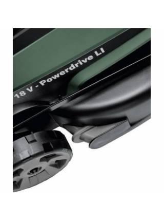 Газонокосилка аккумуляторная BOSCH CityMower 18 (18.0 В, 1 акк., 4.0 А/ч, Li-Ion, шир. 340 мм, выс. 30-60 мм, металлич. корпус, травосборник 6)