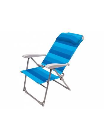 Кресло-шезлонг складное, NIKA (Цвета в ассортименте) К2