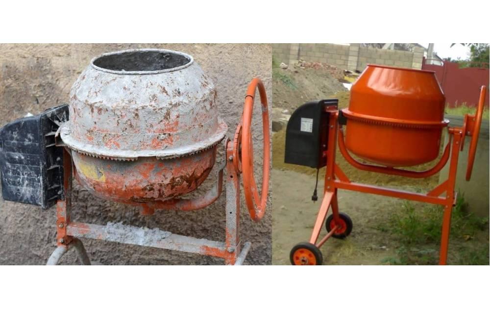Как очистить бетоносмеситель от застывшего раствора?