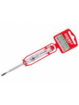 Пробник электрический 100-500v, 130мм ВОЛАТ (отвертка-пробник, индикатор, тестер)