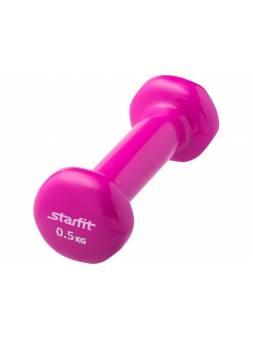 Гантель виниловая 0,5 кг 1 шт. Starfit