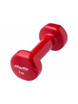 Гантель виниловая 1 кг 1 шт. Starfit