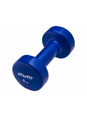 Гантель виниловая 4 кг 1 шт. Starfit