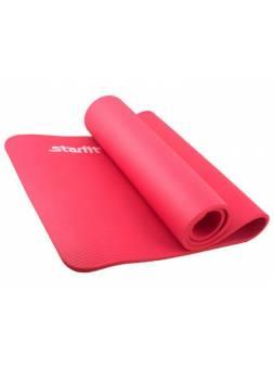 Коврик для йоги FM-301-12-RD красный Starfit
