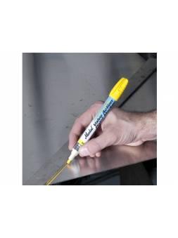 Маркер промышл. перманентный на основе жидк. краски MARKAL CERTIFIED VALVE ACTION ЖЕЛТЫЙ (Для нержавеющей стали. Толщина линии 3 мм. Цвет желтый)