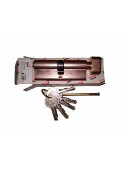Евроцилиндр с вертушкой DORMA CBF-1 80 (40x40В) латунь (английский ключ)