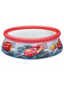 Надувной бассейн Easy Set Тачки, 183х51 см, INTEX (от 3 лет)