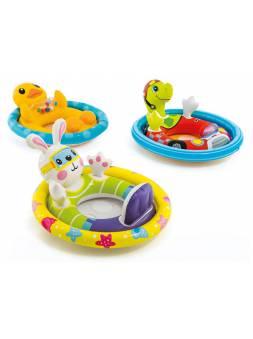 Надувной круг для плавания, See Me Sit, 81х58 см, INTEX (для детей от 3 до 4 лет)