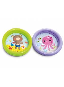 Надувной детский бассейн Мой первый бассейн, 61х15 см, INTEX (для детей от 1 до 3 лет)