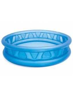 Надувной детский бассейн Soft Side, 168х46 см, INTEX (от 3 лет)