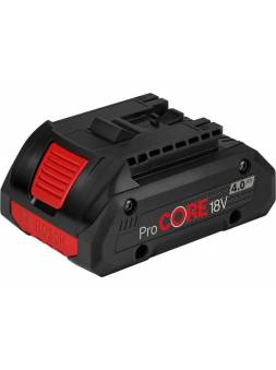 Аккумулятор BOSCH ProCORE 18V 18.0 В, 4.0 А/ч, Li-Ion