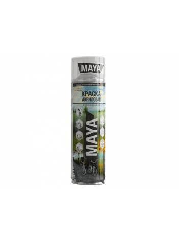 Краска-эмаль аэроз. универсальная зеленый MAYA 400мл