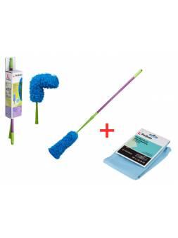 Щетка для уборки пыли Master Multi Duster + Салфетка Чистое окно (45-350110) (Промо  Салфетка Чистое окно в подарок) (PERFECTO LINEA)