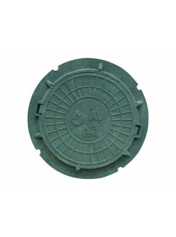 Люк садовый А15 (15 кН) зеленый, AV Engineering